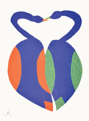 Together - Northern Expressions | Saimaiyu Akesuk - Print | | Canadian Indigenous & Inuit Art