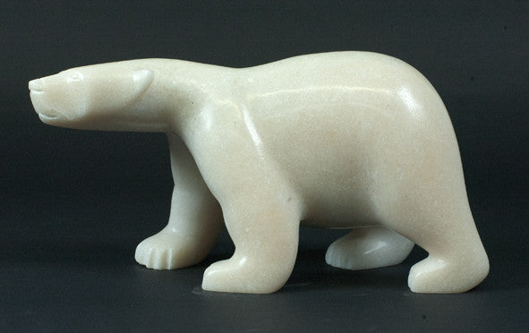 Polar Bear - Northern Expressions | Ashevak Tunnillie - Carving | | Canadian Indigenous & Inuit Art