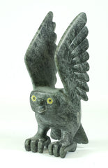 Toonoo Sharky I Northern Expressions I Owl Soapstone Carving