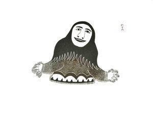 SHAMAN - Northern Expressions | Eegyvudluk Ragee - Print | | Canadian Indigenous & Inuit Art