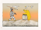 THE BEAR - Northern Expressions | Soroseelutu Ashoona - Print | | Canadian Indigenous & Inuit Art