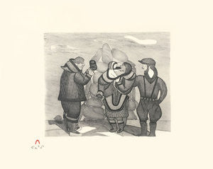 WHALER'S EXCHANGE - Northern Expressions | Napachie Pootoogook - Print | | Canadian Indigenous & Inuit Art