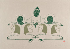 Northern Expressions I 1993 Cape Dorset Print Collection