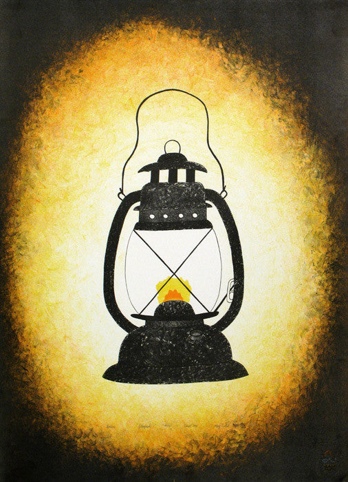 LANTERN - Northern Expressions | Mary Pudlat - Print | | Canadian Indigenous & Inuit Art