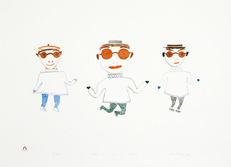 Northern Expressions I 1994 Cape Dorset Print Collection