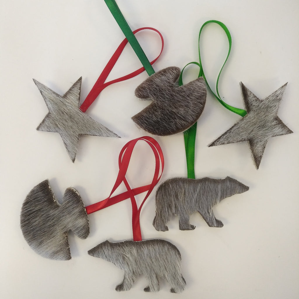 Decorative Seal Skin Ornaments - Northern Expressions | Northern Expressions - Gift | | Canadian Indigenous & Inuit Art