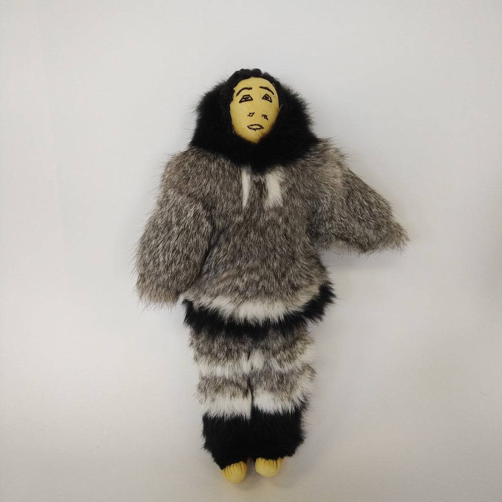 Inuit Doll - Northern Expressions | Martha Neeveeacheak - Gift | | Canadian Indigenous & Inuit Art