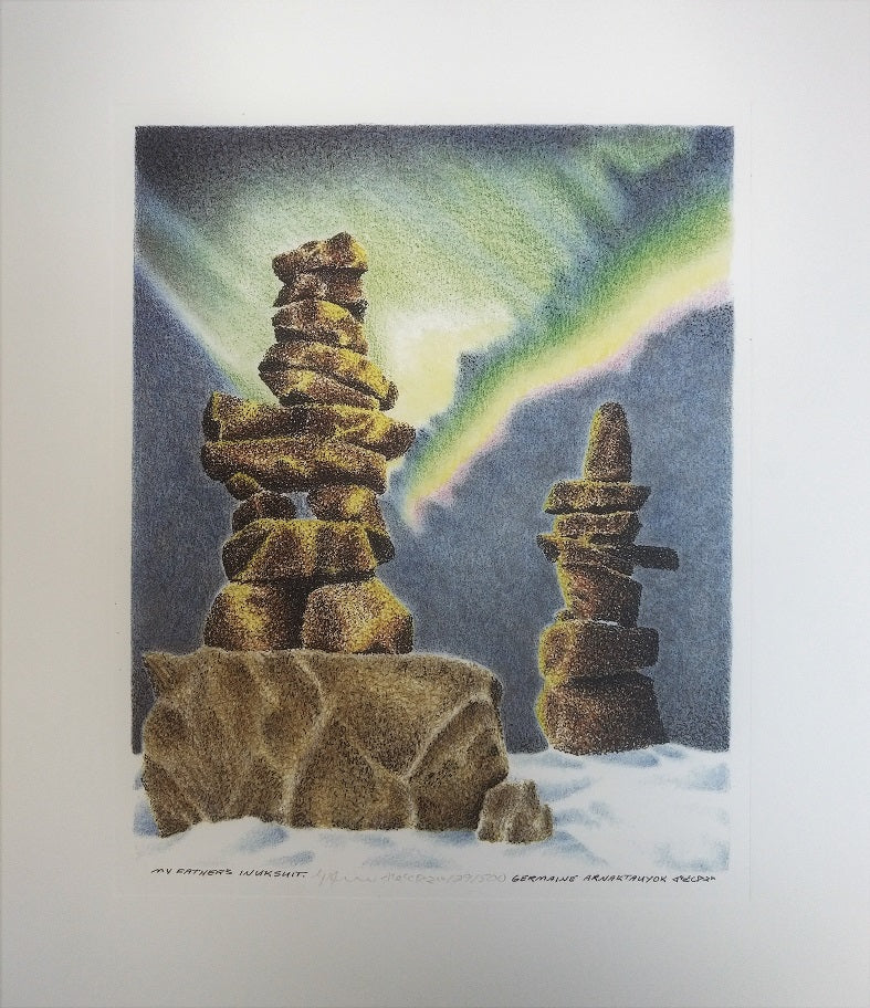 My Father's Inuksuit