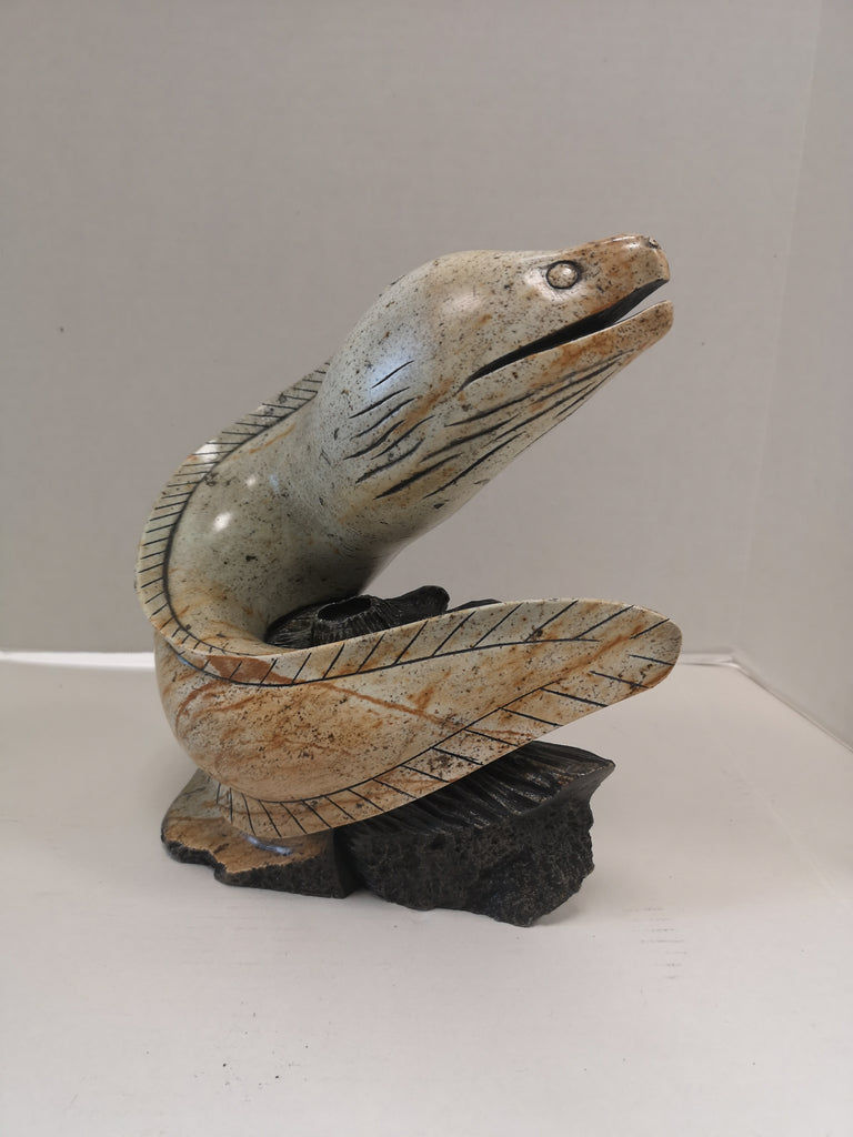 American Eel - Northern Expressions | Eric Silver - Carving | | Canadian Indigenous & Inuit Art
