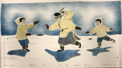 Over Here - Northern Expressions | Andrew Qappik - Print | | Canadian Indigenous & Inuit Art