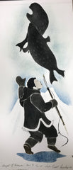 Thought of Tomorrow - Northern Expressions | Andrew Qappik - Print | | Canadian Indigenous & Inuit Art