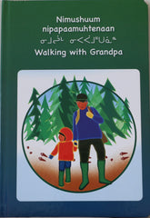 Walking with Grandpa - Northern Expressions | Northern Expressions - Gift | | Canadian Indigenous & Inuit Art