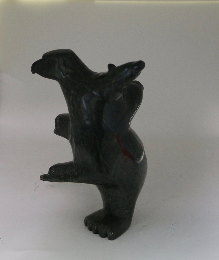 Transformation - Northern Expressions | Luka Mikiguk - Carving | | Canadian Indigenous & Inuit Art