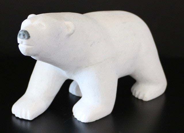 Walking Bear - Northern Expressions | Johnny Manning - Carving | | Canadian Indigenous & Inuit Art