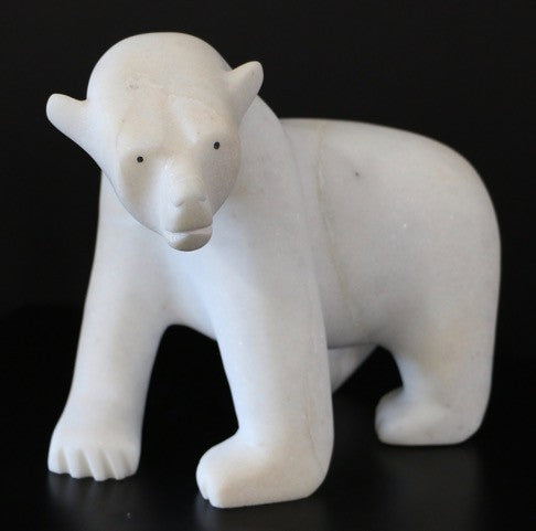 Walking Bear - Northern Expressions | Adam Qaumagiaq - Carving | | Canadian Indigenous & Inuit Art