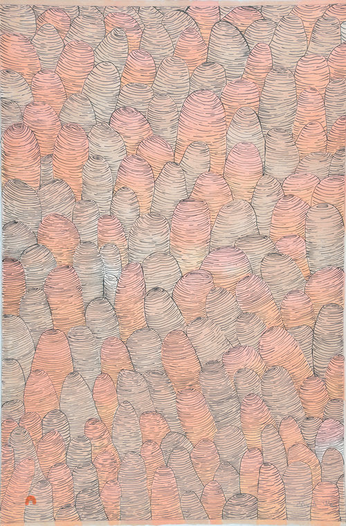 Clams - Northern Expressions | Shuvinai Ashoona - Print | | Canadian Indigenous & Inuit Art