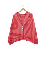 Chloe Angus Spirit Wrap. Made in Canada. Heida wearable art.