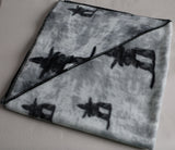 Fleece Inukshuk Blanket. Inuit. Made in Canada