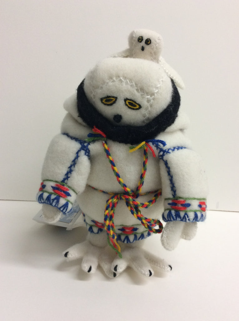 Inuit Owl Packing Doll