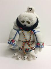Owl Packing Doll - Northern Expressions | Rankin Inlet - Gift | | Canadian Indigenous & Inuit Art