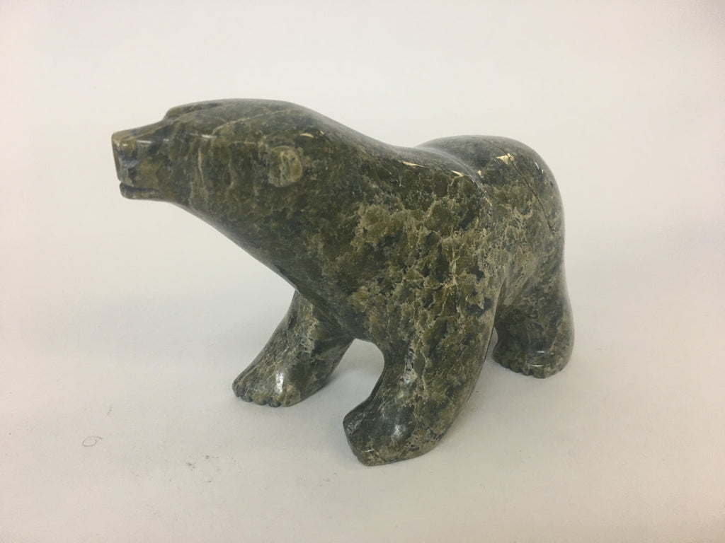 Walking Bear - Northern Expressions | Ezee Saggiak - Carving | | Canadian Indigenous & Inuit Art