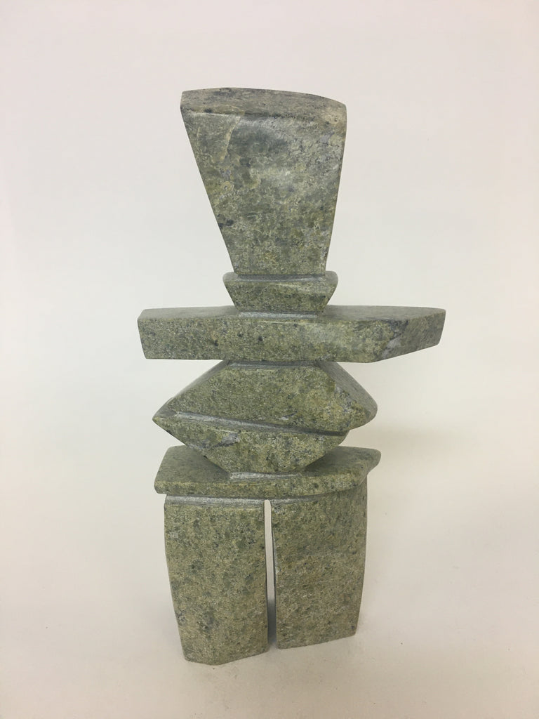 Inukshuk - Northern Expressions | kov Parr - Carving | | Canadian Indigenous & Inuit Art