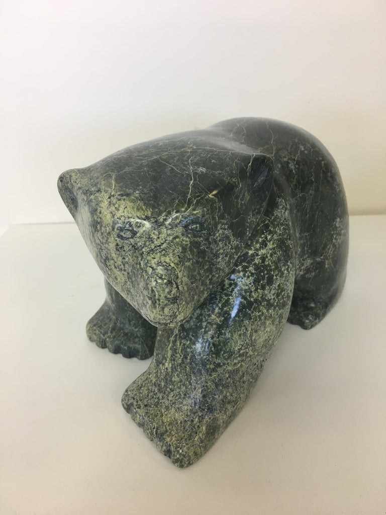 Walking Bear - Northern Expressions | Johnny Papigatok - Carving | | Canadian Indigenous & Inuit Art