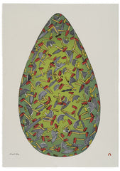 Easter Egg - Northern Expressions | Shuvinai Ashoona - Print | | Canadian Indigenous & Inuit Art