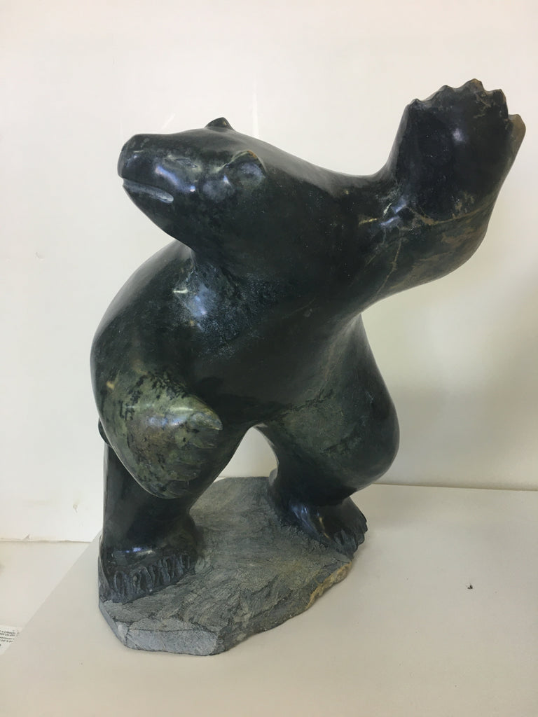 Dancing Bear - Northern Expressions | Jaco Ishulutak - Carving | | Canadian Indigenous & Inuit Art