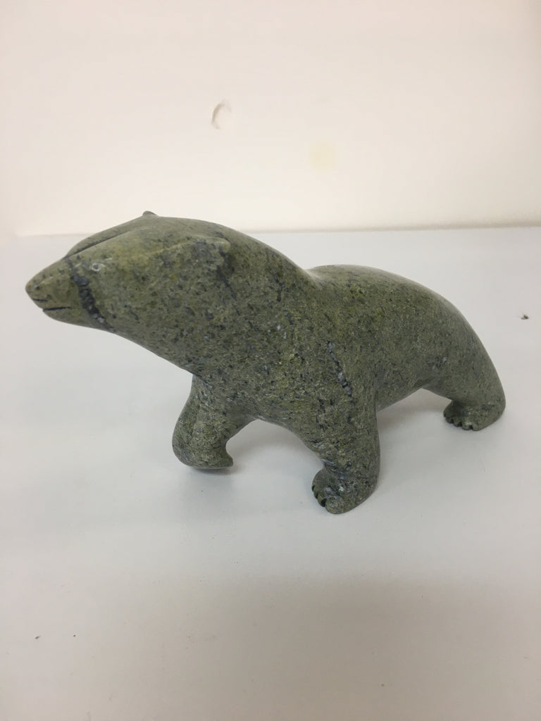Walking bear - Northern Expressions | Noah Jaw - Carving | | Canadian Indigenous & Inuit Art
