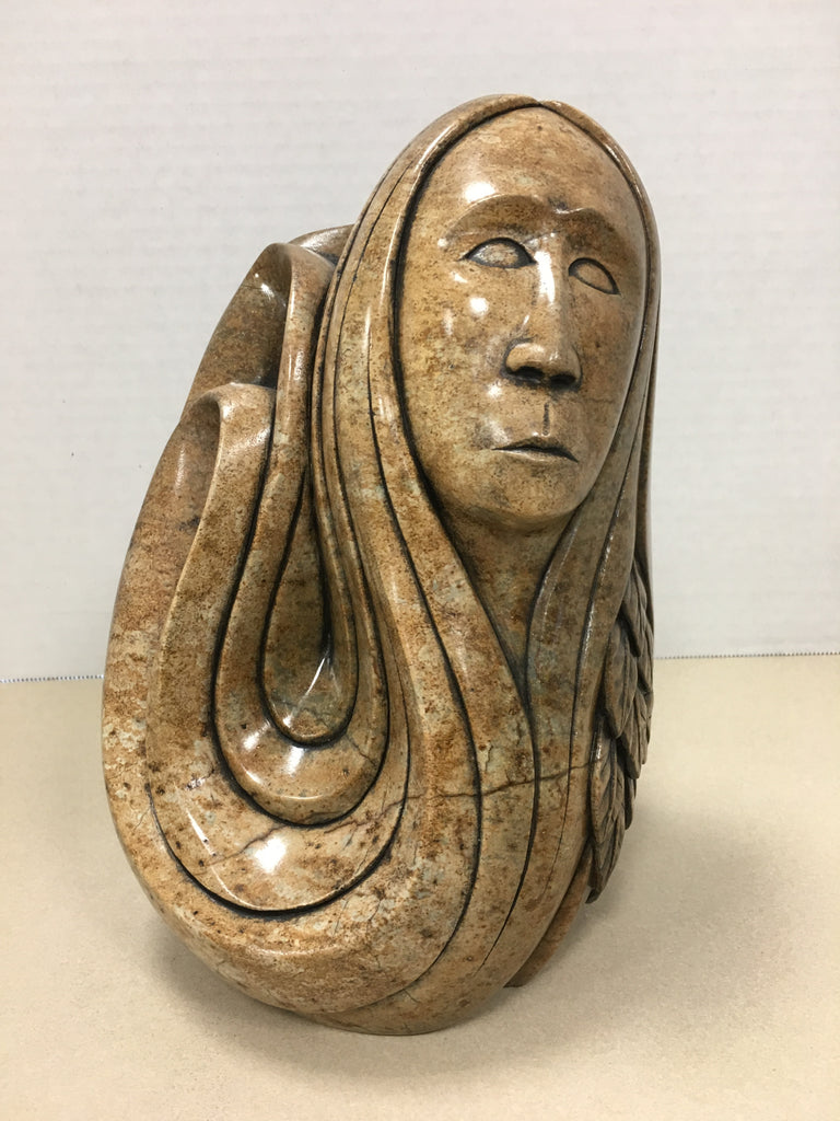 Three Sisters - Northern Expressions | Eric Silver - Carving | | Canadian Indigenous & Inuit Art