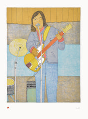 Live on Stage, 2015 - Northern Expressions | Qaluituk Kingwatsiak - Print | | Canadian Indigenous & Inuit Art