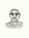 Pebble Man - Northern Expressions | Padloo Samayuale - Print | | Canadian Indigenous & Inuit Art