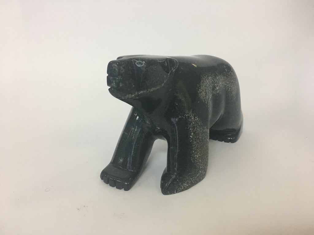 Walking Bear - Northern Expressions | Kove Parr - Carving | | Canadian Indigenous & Inuit Art