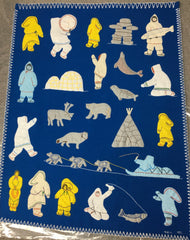 Inuit Handmade Wall Hanging - Northern Expressions | Irene Ahmakj - Gift | | Canadian Indigenous & Inuit Art