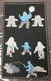 Inuit Handmade Wall Hanging - Northern Expressions | Theresa Ishalook - Gift | | Canadian Indigenous & Inuit Art