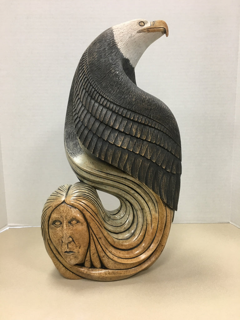 My Guardian Eagle I Northern Expressions | Iroquois Art