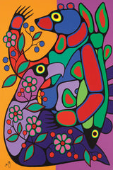 Bountiful Harvest - Northern Expressions | Jim Oskineegish - Print | | Canadian Indigenous & Inuit Art