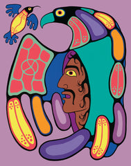 Circle Of Strength - Northern Expressions | Jim Oskineegish - Print | | Canadian Indigenous & Inuit Art