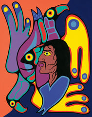 My Brother – The Leader - Northern Expressions | Jim Oskineegish - Print | | Canadian Indigenous & Inuit Art