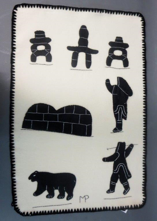 Inuit decorative wall hangings