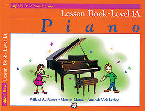 Alfred's Basic Piano Course - Lesson Book, Level 1A - Canada