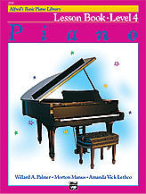 Alfred's Basic Piano Course - Lesson Book, Level 4 - Canada