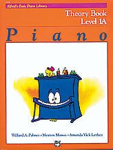 Alfred's Basic Piano Course - Theory Book, Level 1A - Canada
