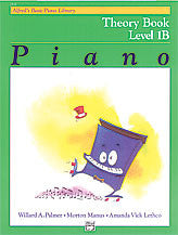 Alfred's Basic Piano Course - Theory Book, Level 1B - Canada