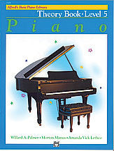 Alfred's Basic Piano Course - Theory Book, Level 5 - Canada