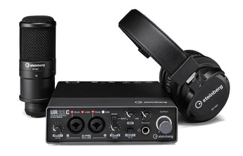 Steinberg UR22C Audio Interface Recording Pack (UR22C RP)