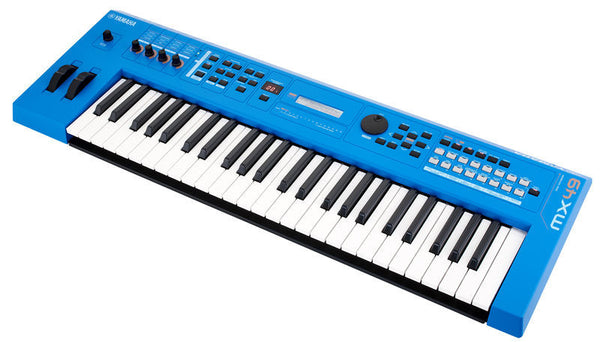 Yamaha MX49 Digital Synthesizer - BLUE