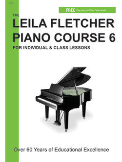 Leila Fletcher Piano Course, Book 6 - Canada