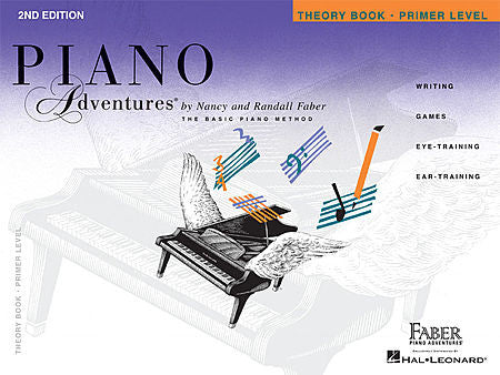 Piano Adventures - Theory Book, Primer Level - Canada